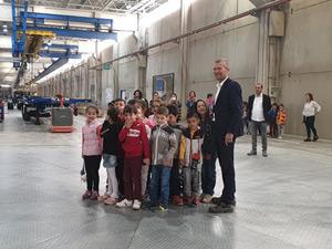 Krone'nin Tire Fabrikası'nda 23 Nisan Coşkusu