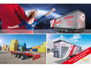 transport logistic 2019 – Kögel displays NOVUM-generation trailers and services