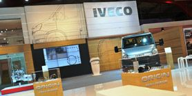 Iveco Avrupa Otomotiv Fuarında İkili Enerji Konseptini Tanıttı