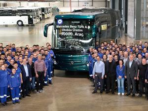 Mercedes-Benz Türk 90.000'inci Otobüsünü Üretti