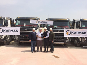 Karmak İnşaat Volvo Trucks İle Filosunu Genişletti