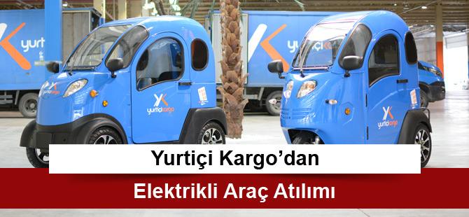 Yurtiçi Kargo'dan Elektrikli Araç Atılımı