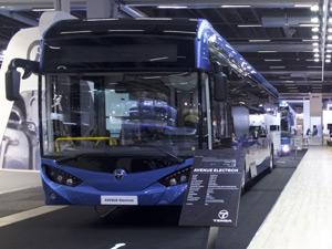 TEMSA UITP'de Elektrikli Araçlarını Sergiledi