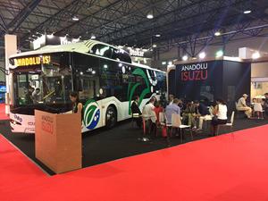 Anadolu Isuzu Busworld Central Asia Fuarına Katıldı