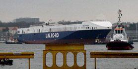U.N RO-RO Yeni Gemisi UN İstanbul'u Denize İndirdi