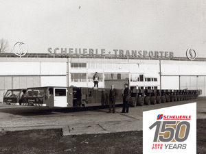 150 years of Scheuerle Fahrzeugfabrik: Once a pioneer in modern heavy-duty transport, today the world leader
