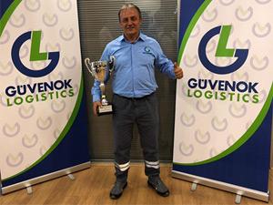 Türkiye'nin En İyi Sürücüsü Güvenok Lojistik'ten