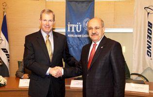 Boeing ve İTÜ Havacılık ve Uzay Teknolojisi Araştırmalarında İşbirliği Yapacak