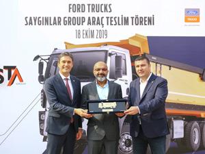 Saygınlar İnşaat Filosuna Ford Trucks İle Genişletti