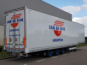 Hollandalı Taşımacılık Şirketi Jan De Rijk'in Tercihi Tırsan Oldu