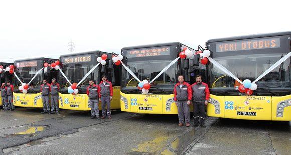 Karsan'ın CNG'li Otobüsleri İstanbul Yollarında