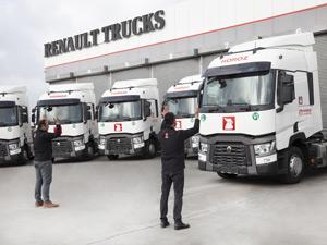 Horoz Lojistik Filosunu 10 Adet Renault Trucks Çekici İle Genişletti