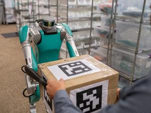 Otonom Teslimat Robotu Göreve Hazır
