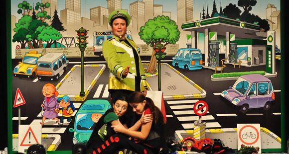 BP Yol Güvenliği Çocuk Tiyatrosu 15'inci Yılında
