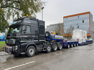 Zagrebtrans relies on UltralightCombi semi-trailer combination from SCHEUERLE  Outstanding loading capacity and diverse combination options