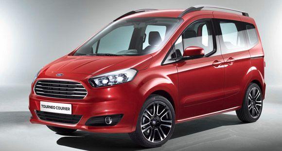 Ford'un Yeni Hafif Ticari Aracı Tourneo Cenevre'de Tanıtılıyor