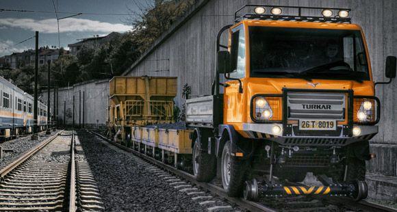 Türkiye'nin 4x4 Arazi Aracı TURKAR Demiryoluna Çıktı