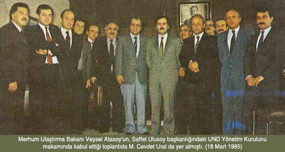UND'nin Kurucu Üyelerinden M. Cevdet Ural Vefat Etti