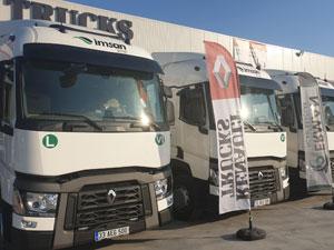 İmsan Group Filosunu Renault Trucks Çekiciler İle Güçlendirdi