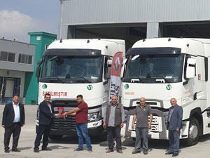 Onaylar Ekspress Filo Yatırımlarına Renault Trucks İle Devam Ediyor