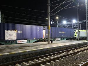Marmaray Hattı İle İlk İhracat Treni Almanya'ya Ulaştı