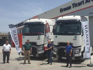 Optifuel Challenge Türkiye Birincisi Aktur İlk Renault Trucks Araçlarını Teslim Aldı