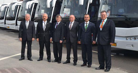 Ulusoy 12 Milyon Dolar Yatırım İle Tacikistan'ın En Büyük Otogarını Açtı