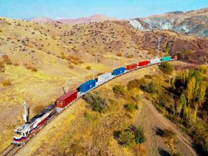 Yük Treni Çin'den Türkiye'ye 12 Günde Ulaştı