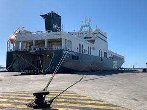 Sete'ye Gelişinin Birinci Yılında DFDS Haftada 3 Sefere Ulaştı