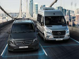 Mercedes Hafif Ticari Araçlar'da 3 Yıl ve Sınırsız Kilometre Garantisi