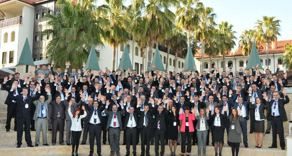 Iveco Satış Ekibi Antalya'da Buluştu