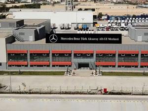 Mercedes-Benz Kamyonların Küresel Şaft Testleri Aksaray'da