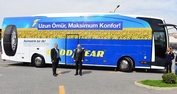 Goodyear'ın Otobüs Lastiği 'Marathon Coach' Türkiye'de