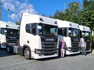 Doğan Taşımacılık Filosunu 6 Yeni Scania İle Güçlendirdi