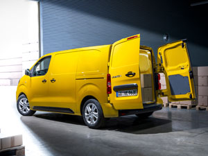 Elektrikli Opel Vivaro Yollara Çıkıyor