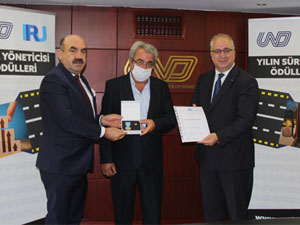 IRU, Sürücü ve Tepe Yöneticileri Ödüllendirildi