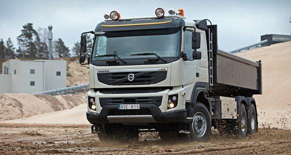 Marble 2013'te Volvo Yeni FH Serisini İlk Kez Görücüye Çıkarttı