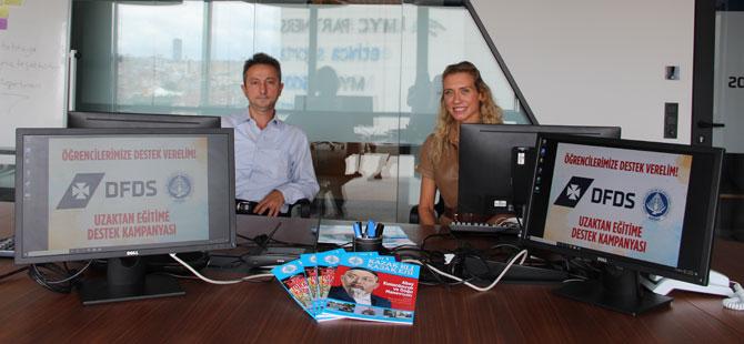 DFDS Akdeniz İş Birimi'nden Eğitime Destek