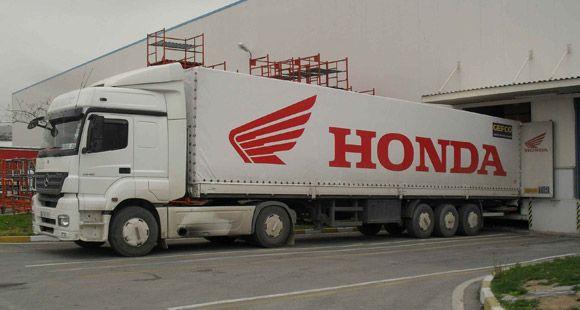 GEFCO Türkiye 39 Bin Honda Motosiklet Taşıyacak