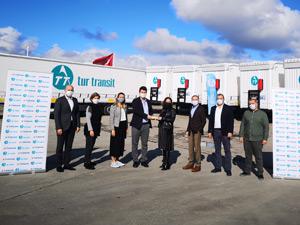 Tur Transit Lojistik Yine Tırsan'ı Tercih Etti