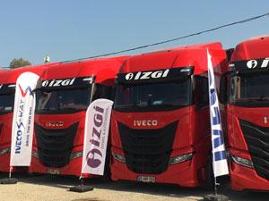 IVECO S-WAY Çekici Teslimatlarına İzmir'de Devam Ediyor