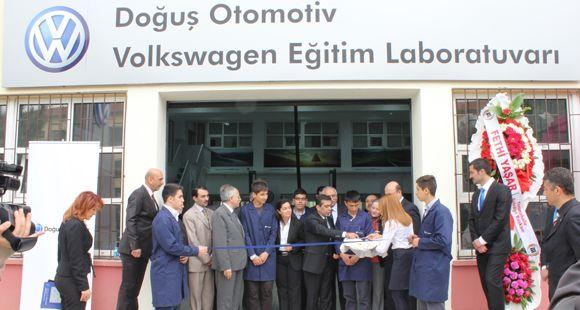 Doğuş Otomotiv ve Volkswagen'den Eğitime Destek