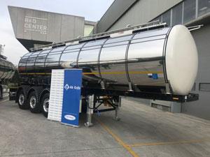 Süt Taşımacılığında Yeni Dönem Tırsan Gıda Tankeriyle Başlıyor