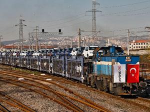 Marmaray ile Deniz Altından İlk Otomobil Taşımasını Omsan Yaptı
