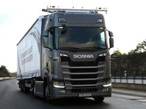 Scania Sürücüsüz Kamyonları İsveç Otoyollarında Test Edecek