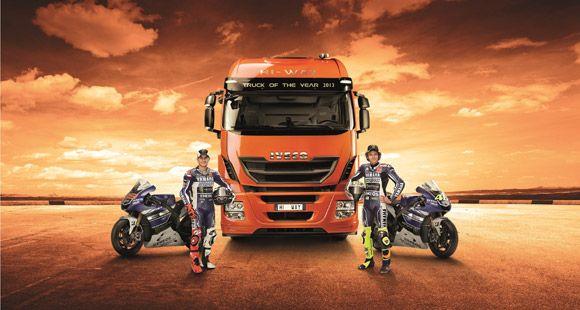 Iveco MotoGP 2013 ve Yamaha Factory Racing Takımının Sponsoru Oldu