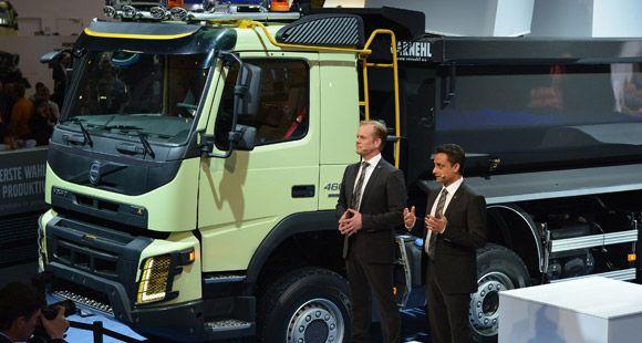 Yeni Volvo FMX Bauma Fuarı'nda Tanıtıldı