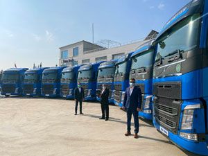 Rastkaya Nakliyat Filosunu Volvo Trucks İle Güçlendirdi