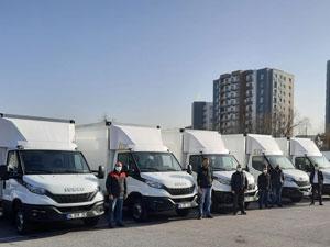 IVECO Otomotiv'den 21 Adet Daily Teslimatı