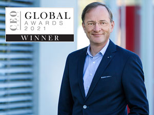 """Prestigious award for TII Group´s CEO: Dr. Gerald Karch is CEO Today Magazine's """"Global Award 2021 Winner"""""""